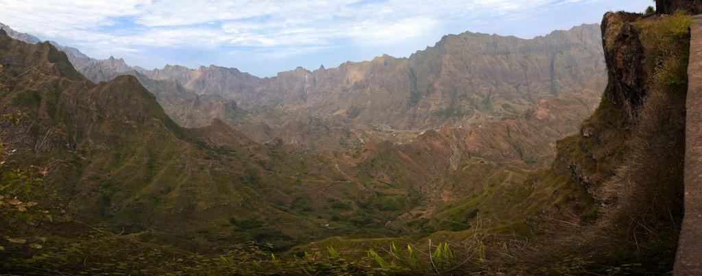 Malebné údolí Valle de Paúl na ostrově Santo Antao
