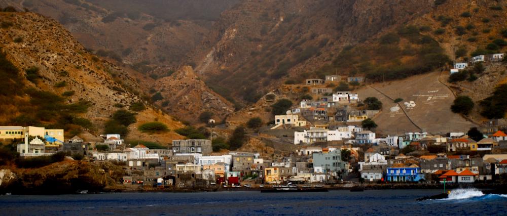 Vesnička Furna na ostrově Brava Island