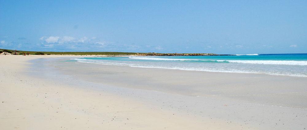 Pobřeží ostrova Boa Vista